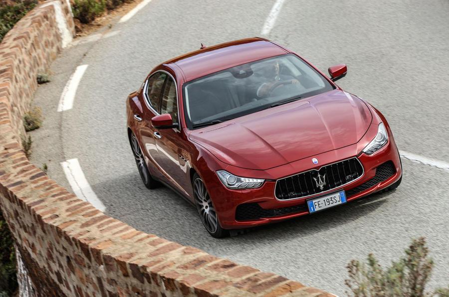 Maserati Ghibli Diesel hard cornering