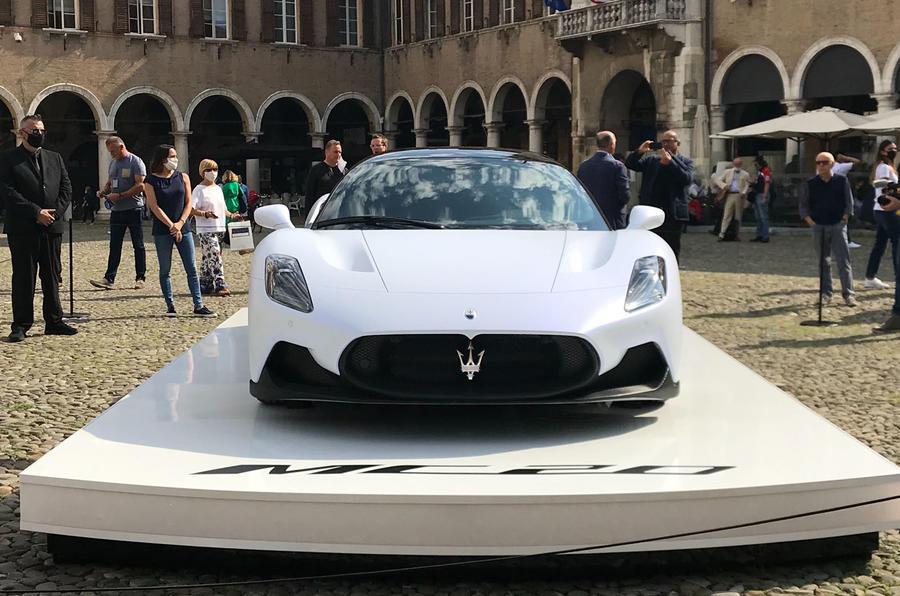 Maserati MC20 static nose