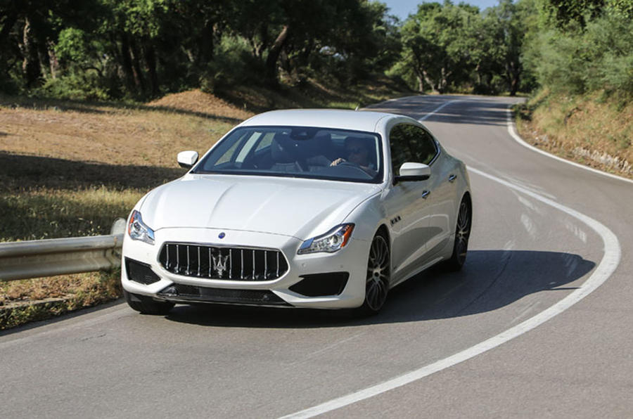 2016 maserati quattroporte gts review review autocar. Black Bedroom Furniture Sets. Home Design Ideas