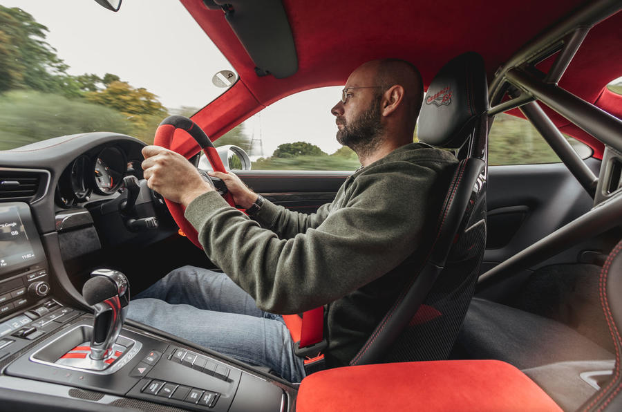 Matt Prior driving the Porsche 911 GT2 RS