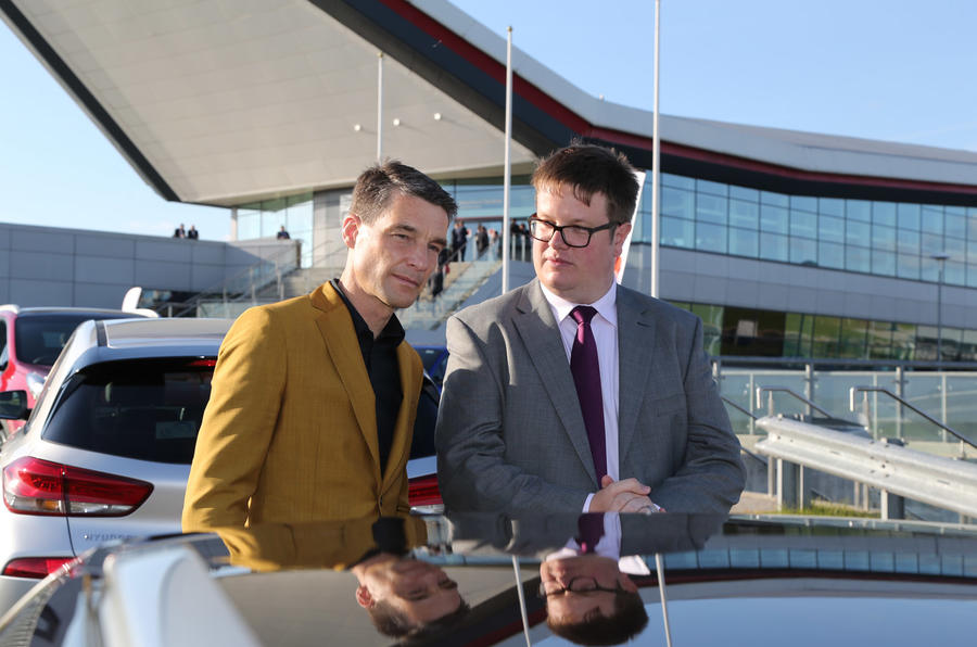 Saunders meets Volvo V90 designer Thomas Ingenlath