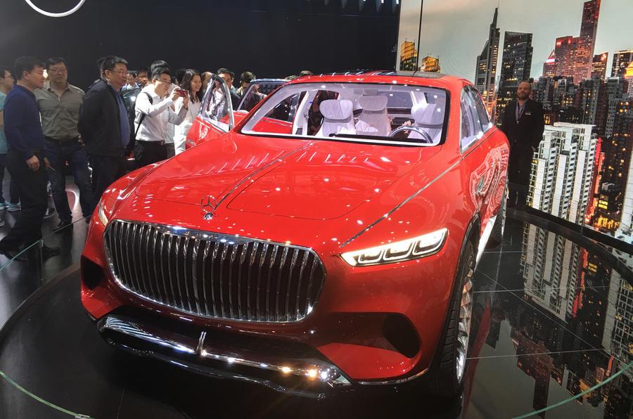 Beijing motor show Mercedes-Maybach
