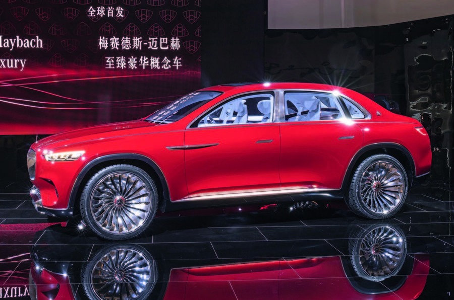 Maybach SUV concept