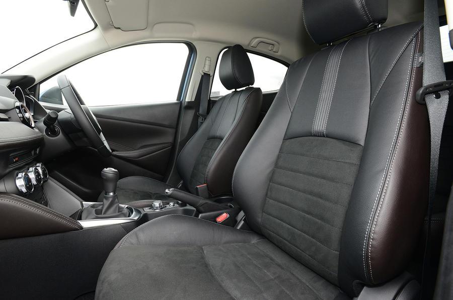 Mazda 2 GT interior