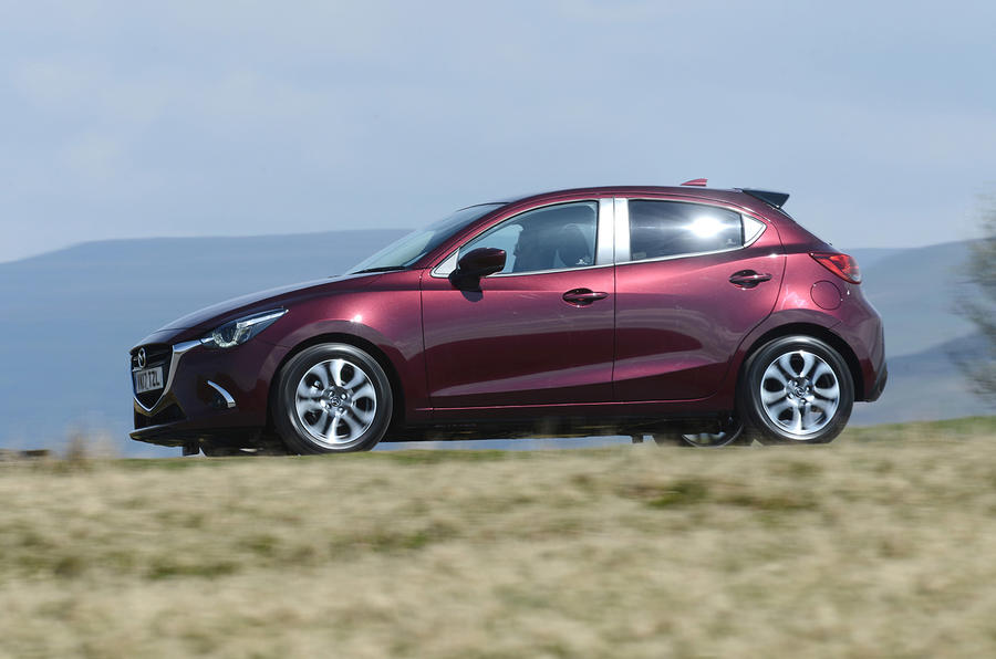 Mazda 2 GT side profile