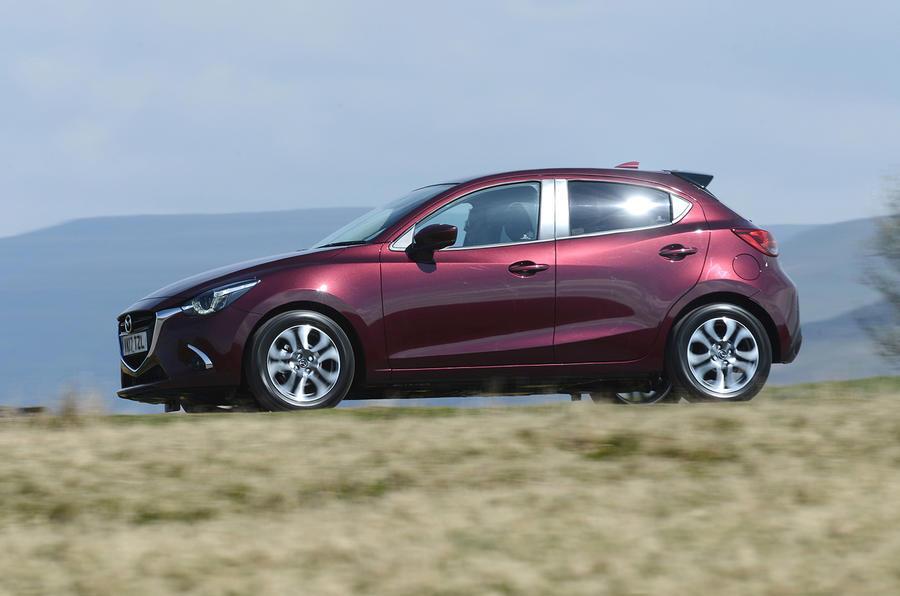 Mazda 2 GT side profile