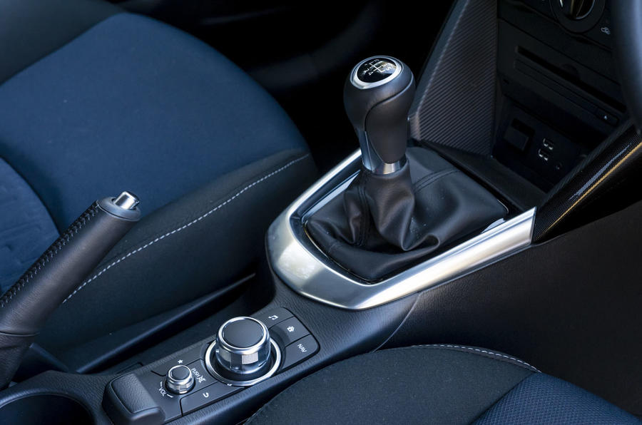 Mazda 2 manual gearbox