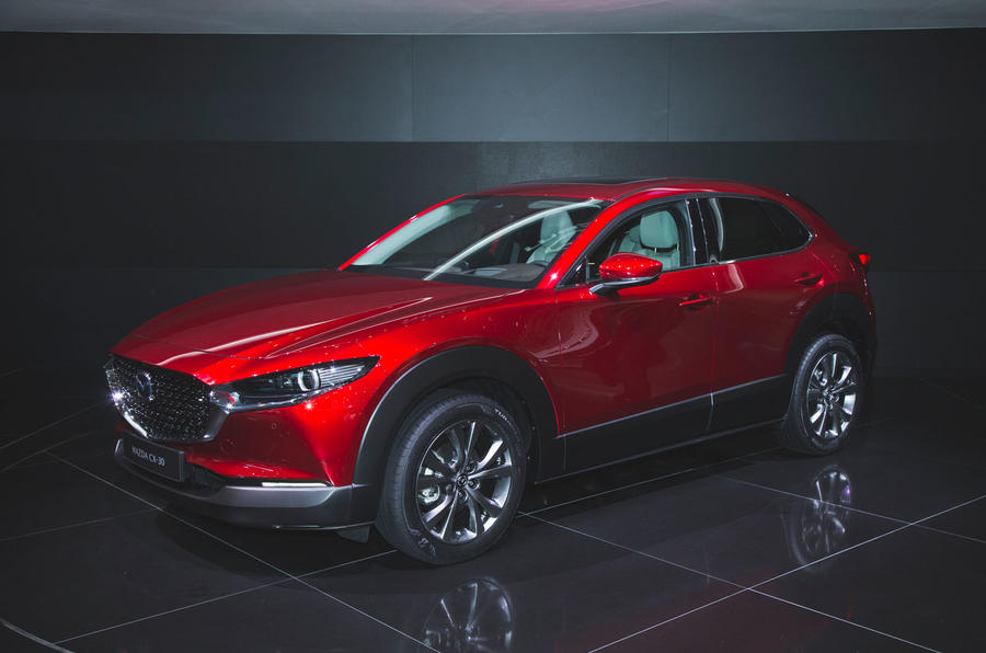 Mazda Cx 30 Compact Crossover Makes Debut At Geneva Autocar