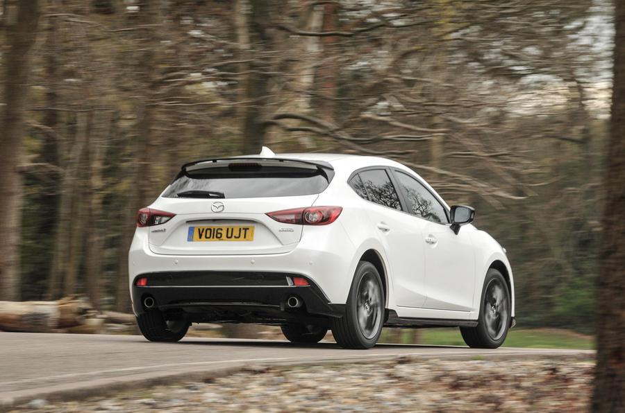 Mazda 3 Sport Black rear