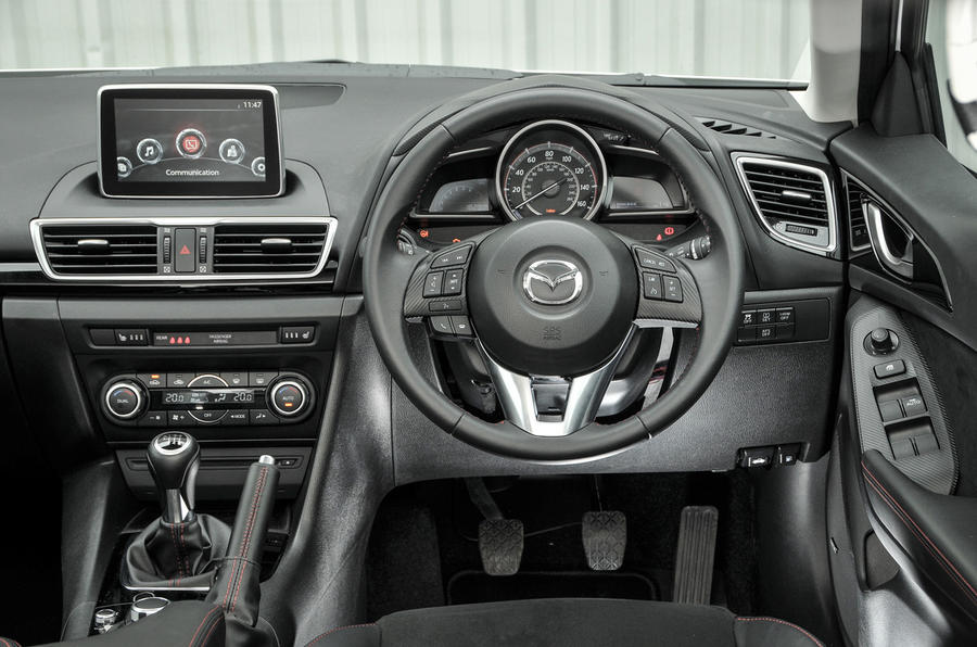 2016 Mazda 3 2 0 Skyactiv G 120 Sport Black Review Review