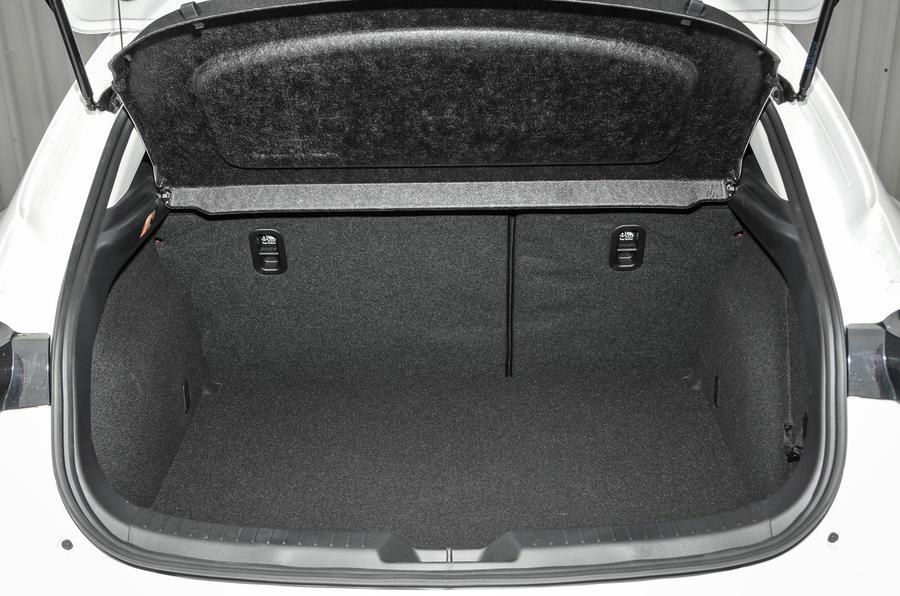 Mazda 3 Sport Black boot space