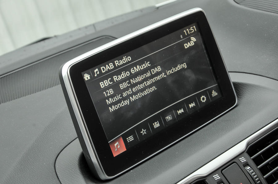 DAB radio in the Mazda 3