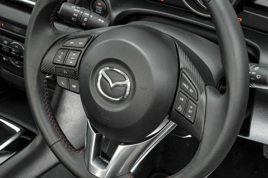 Mazda 3 steering wheel controls