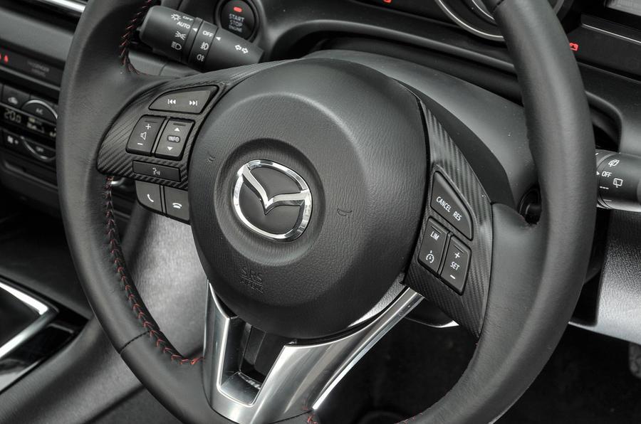 ... Mazda 3 Steering Wheel Controls ...
