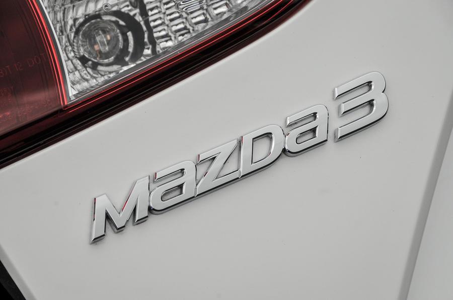 Mazda 3 badging