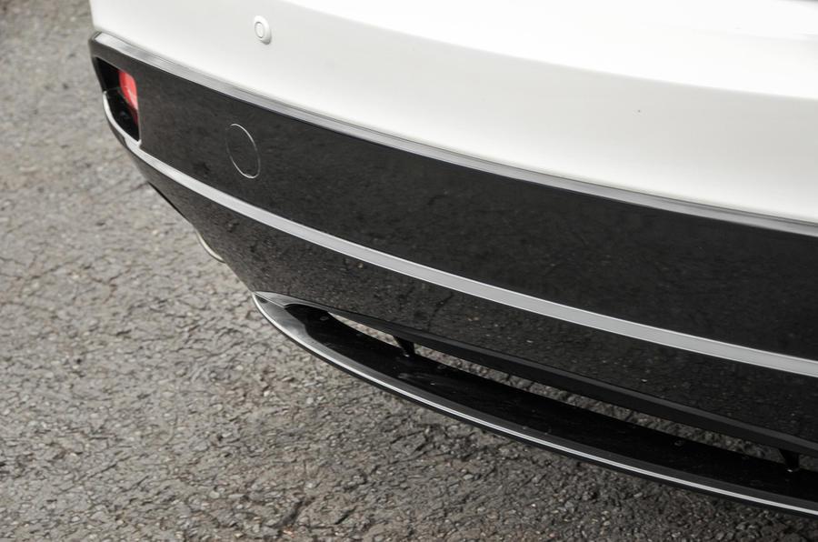 Mazda 3 Sport Black rear diffuser