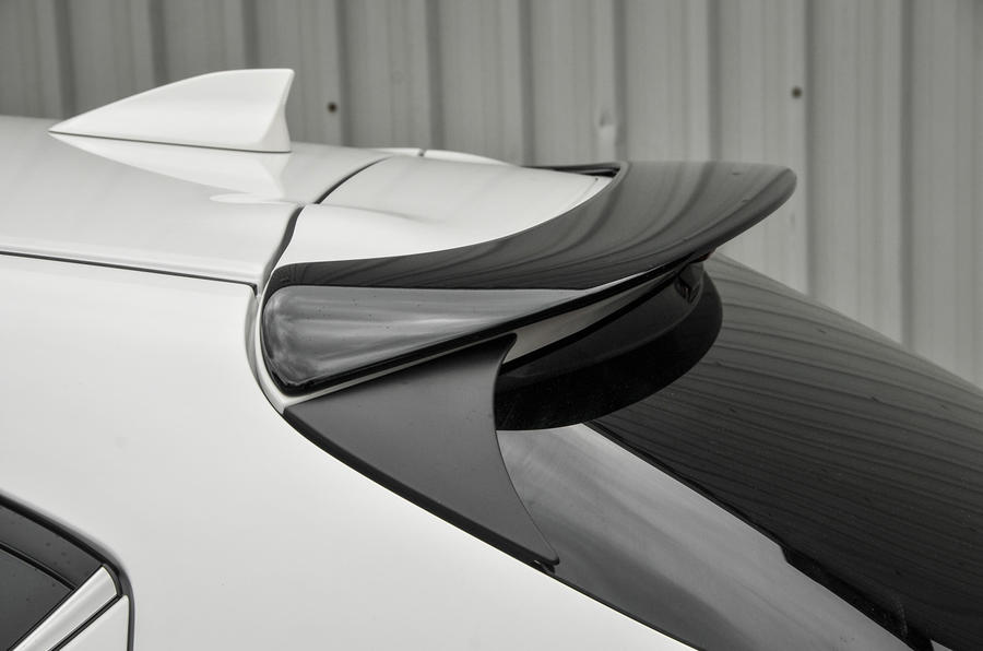 Mazda 3 rear spoiler