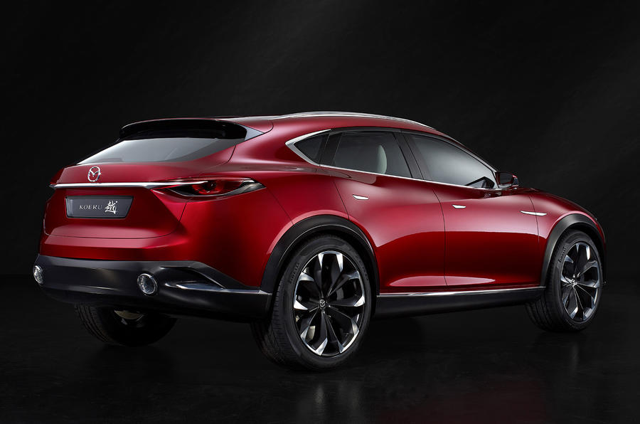 mazda ponders how koeru crossover coupé might fit into model range