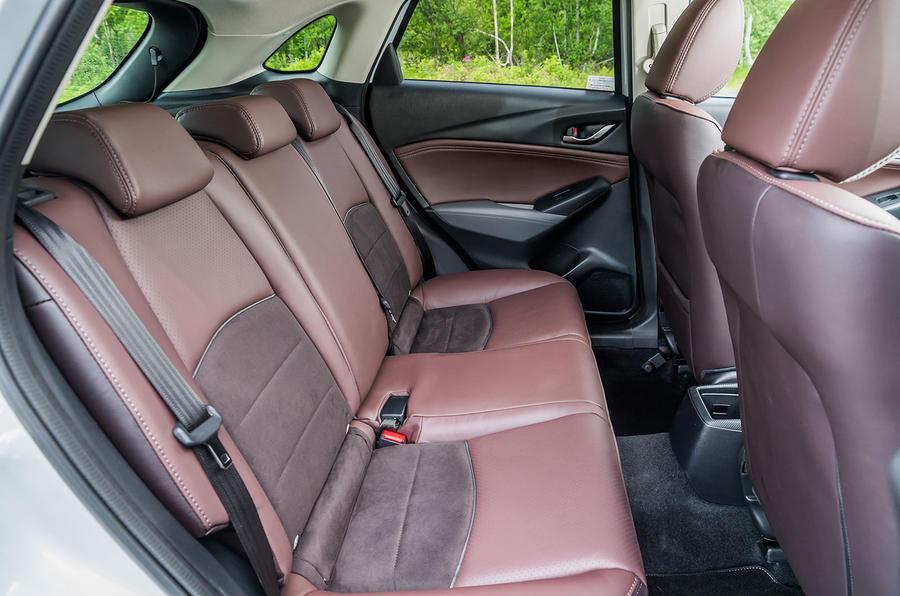 Mazda CX-3 GT Sport rear seats