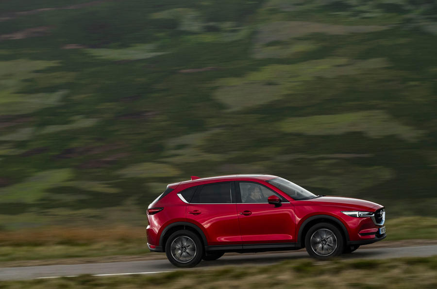Mazda CX-5 side profile