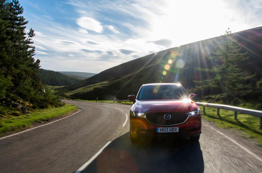 Mazda CX-5 front profile
