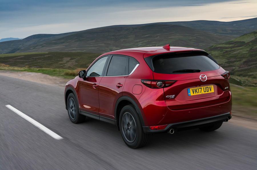 Mazda CX-5 rear quarter