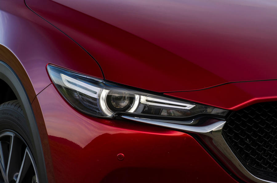 Mazda CX-5 headlights