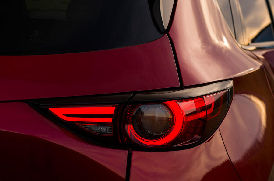 Mazda CX-5 rear lights