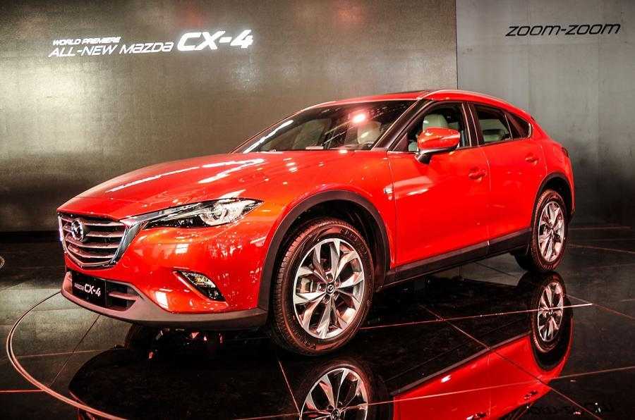 mazda cx-4 coupe-suv won't come to europe | autocar