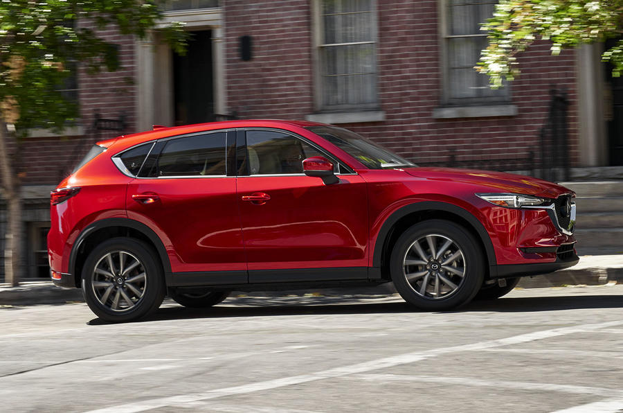 2017 mazda cx 5 revealed at la motor show autocar. Black Bedroom Furniture Sets. Home Design Ideas