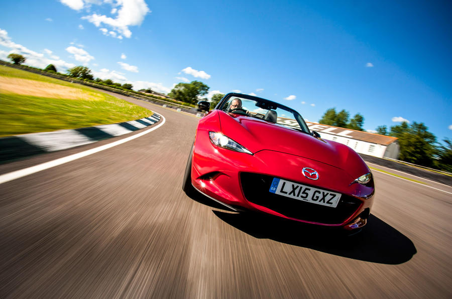 Mazda MX-5 front end