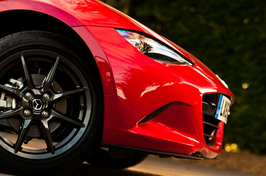 Mazda MX-5 front nose