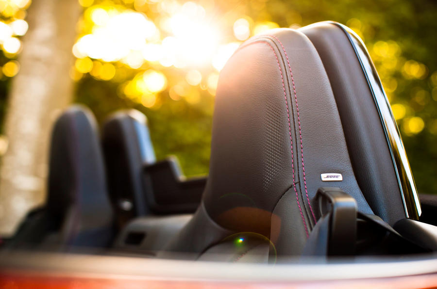 Mazda MX-5 sport seats