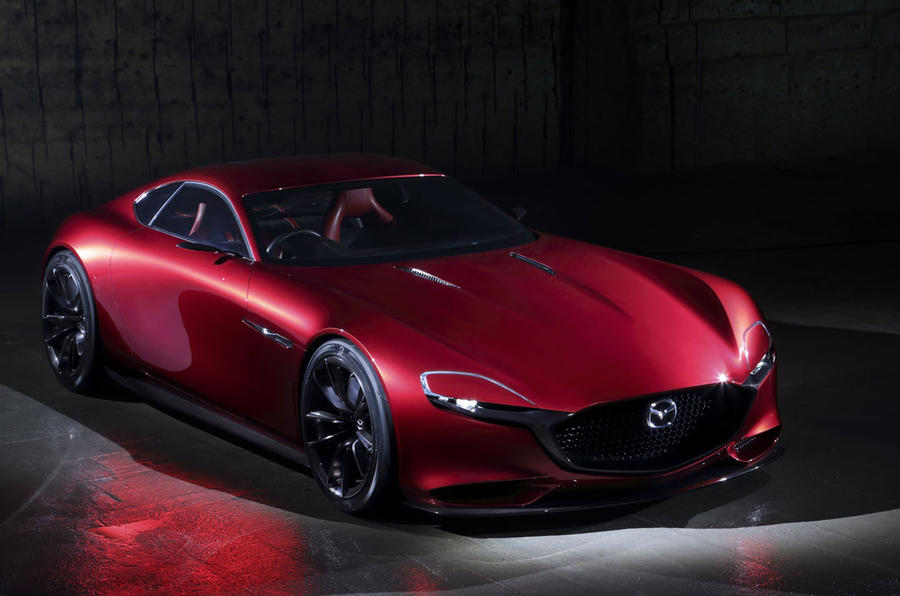 Mazda RX-Vision rotary-engined sports car concept revealed | Autocar