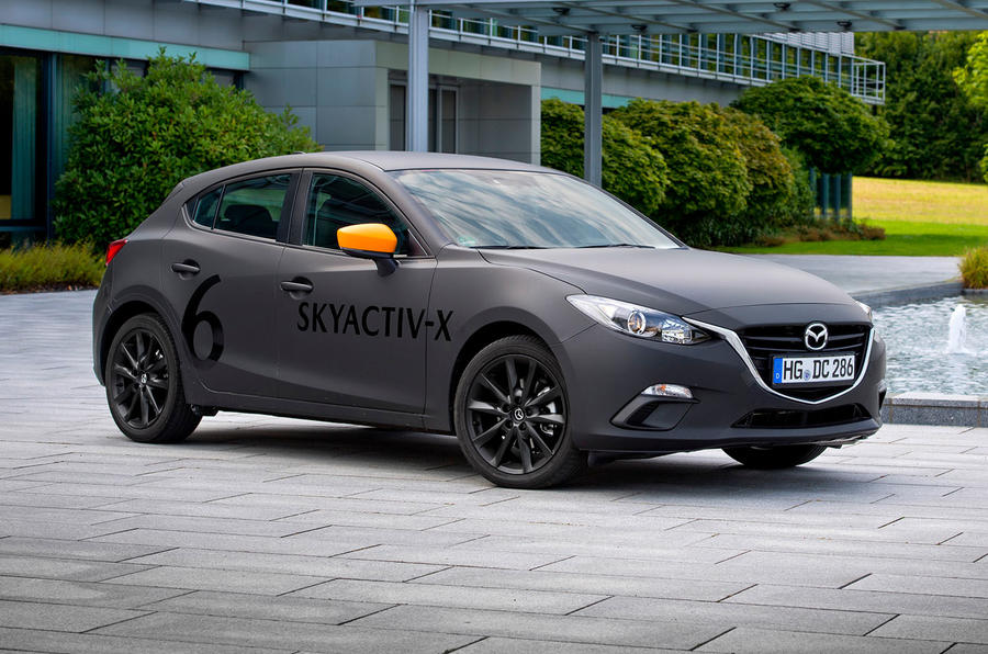 Mazda 3 Skyactiv-X 2019 prototype review