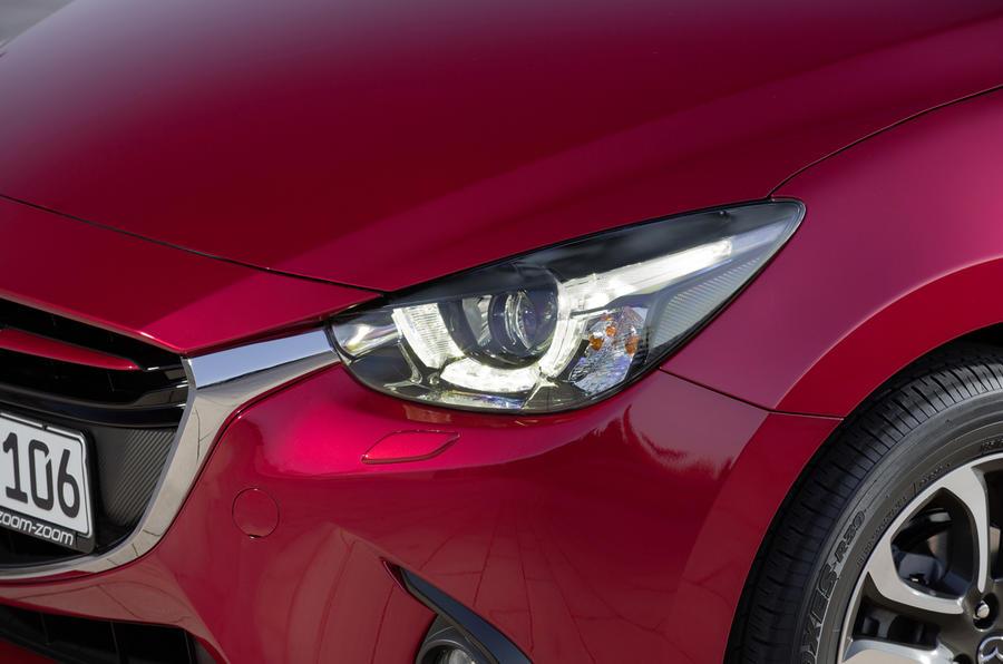 Mazda 2 LED headlights