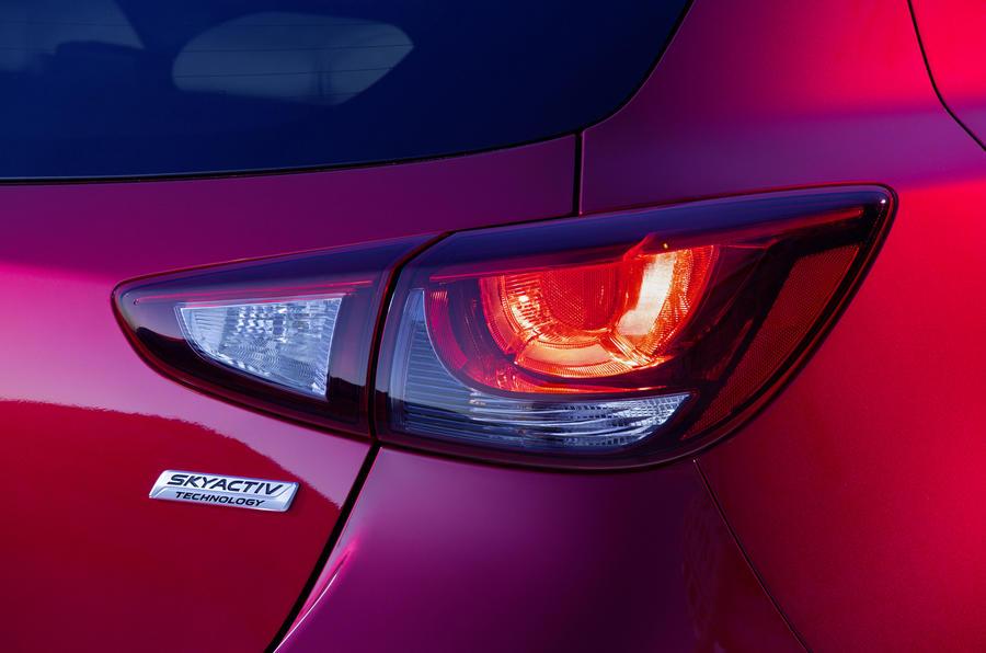 Mazda 2 rear lights