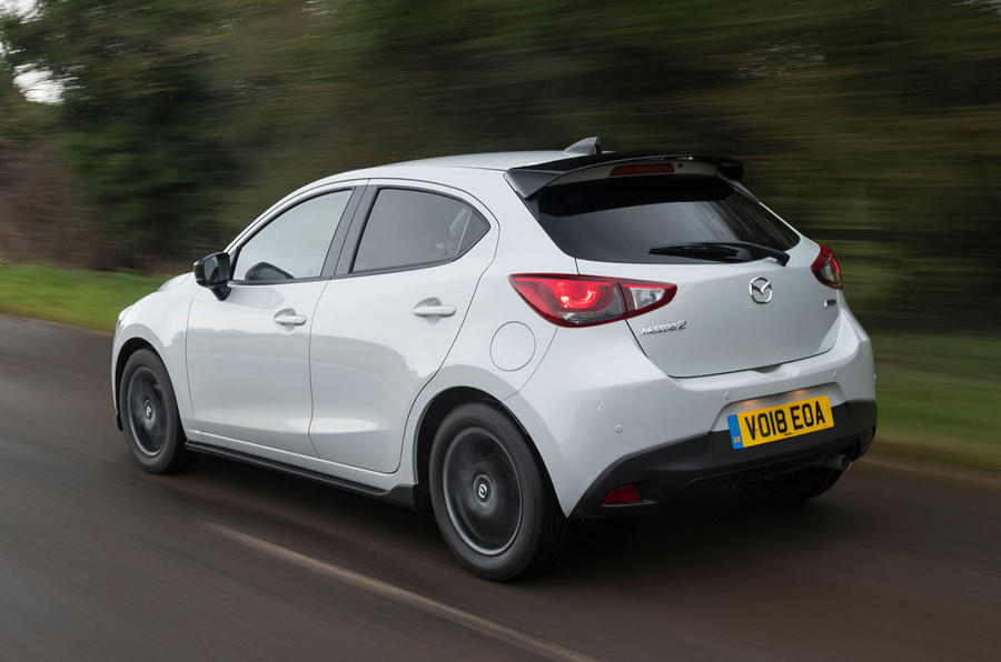 mazda 2 sport black 2018 uk review autocar. Black Bedroom Furniture Sets. Home Design Ideas