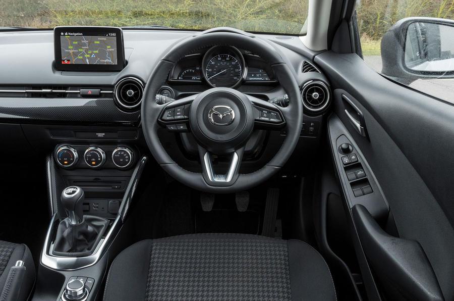 Mazda 2 Sport Black cabin