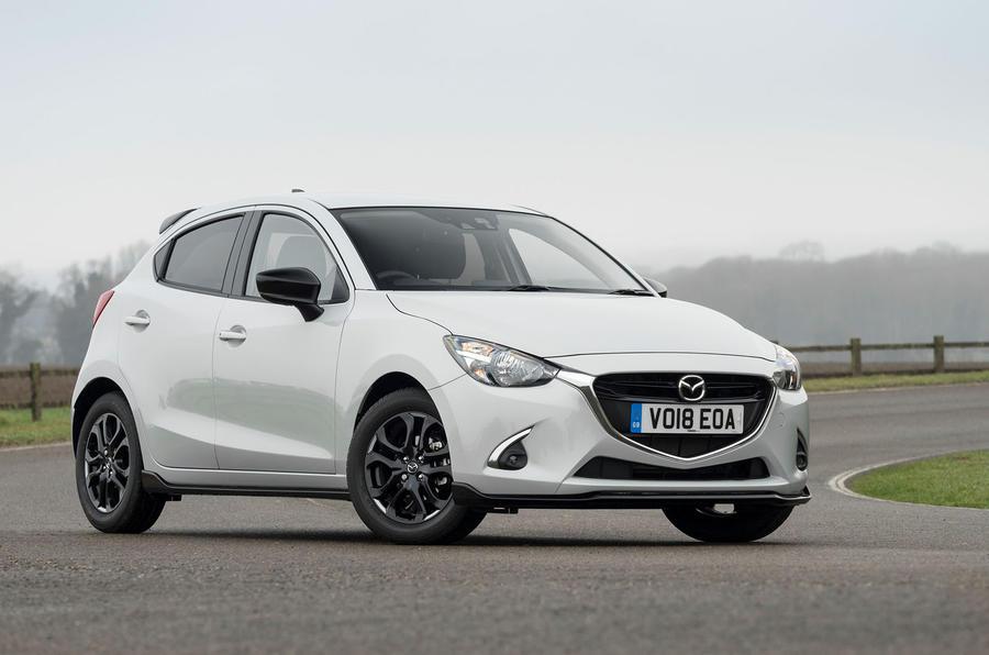 Mazda 2 Sport Black static front