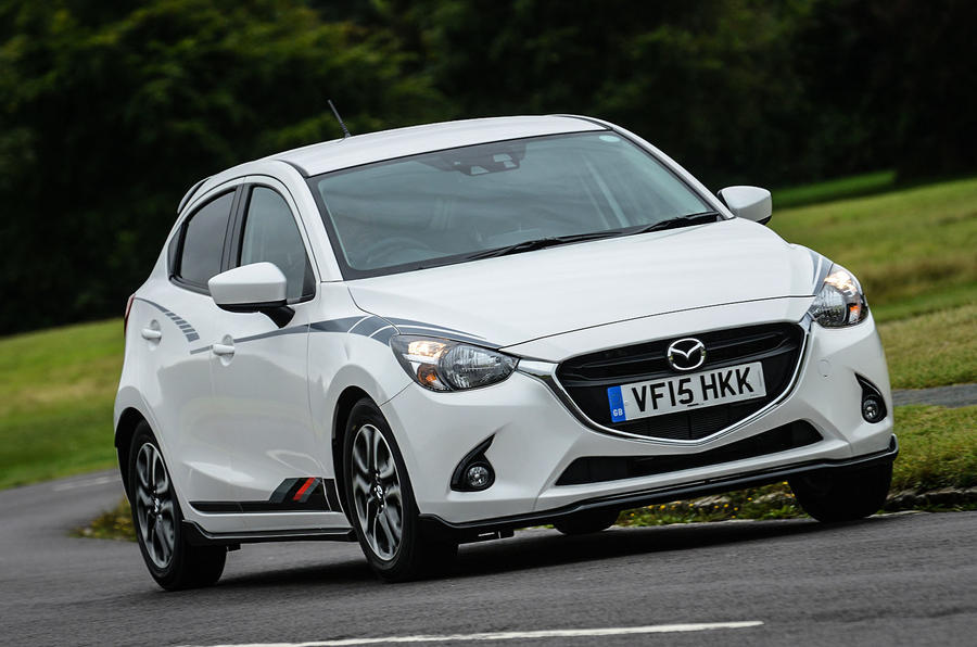 2015 mazda 2 1 5 sport black edition review review autocar. Black Bedroom Furniture Sets. Home Design Ideas