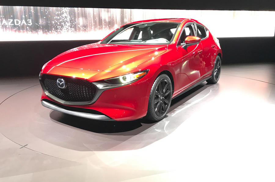 2019 Mazda 3 Introduces Innovative Compression Ignition Petrol