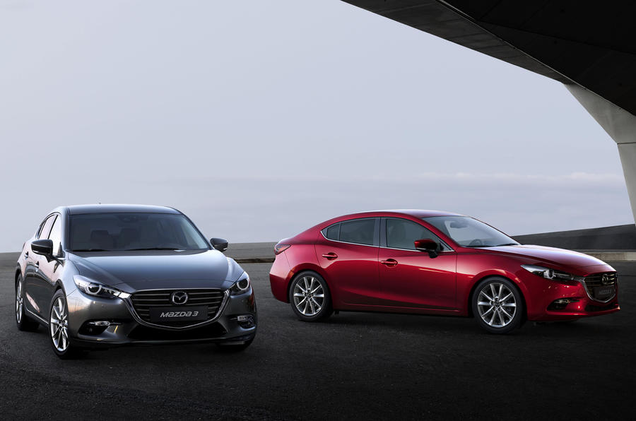 Facelifted Mazda 3 revealed