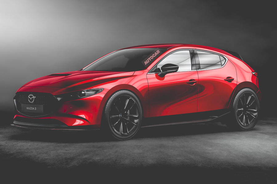 hot mazda 3 on the cards to take on vw golf gti  autocar