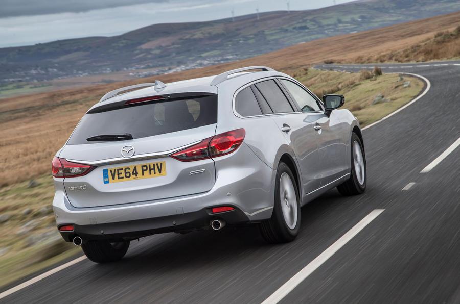 Delightful ... Mazda 6 Tourer Rear ...