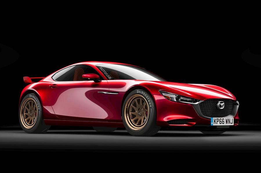 Mazda Vision concept based rendering