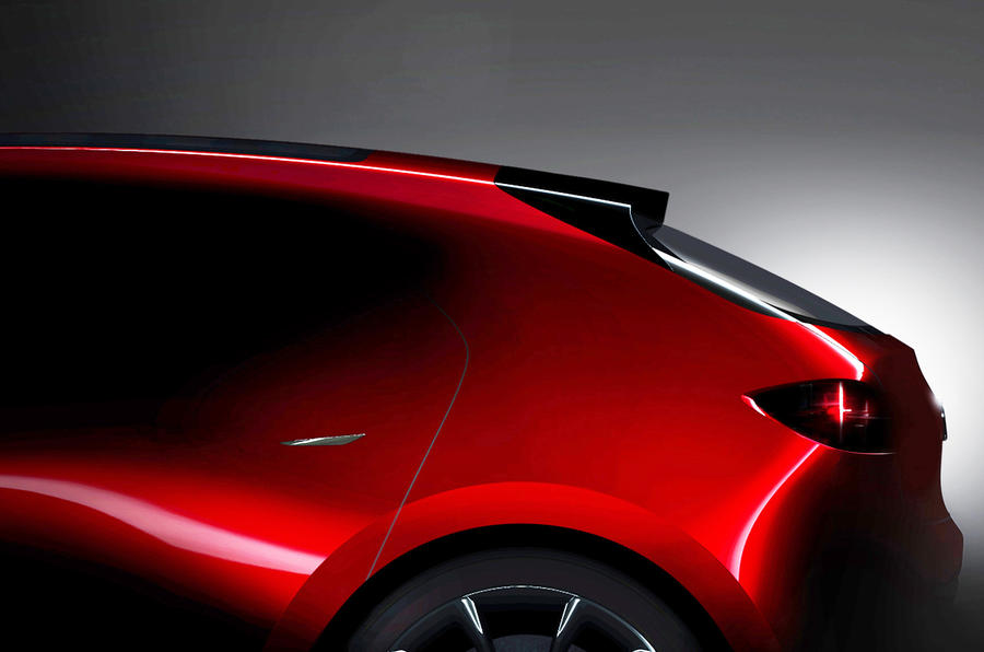 What Is Skyactiv Mazda >> Mazda previews next-generation 3 and sports car concepts ...