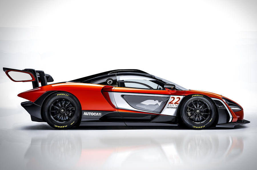 McLaren Senna will not go racing, says brand boss