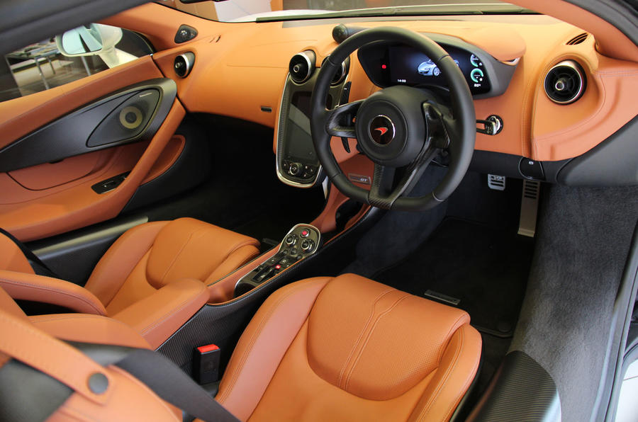 McLaren 570GT dashboard
