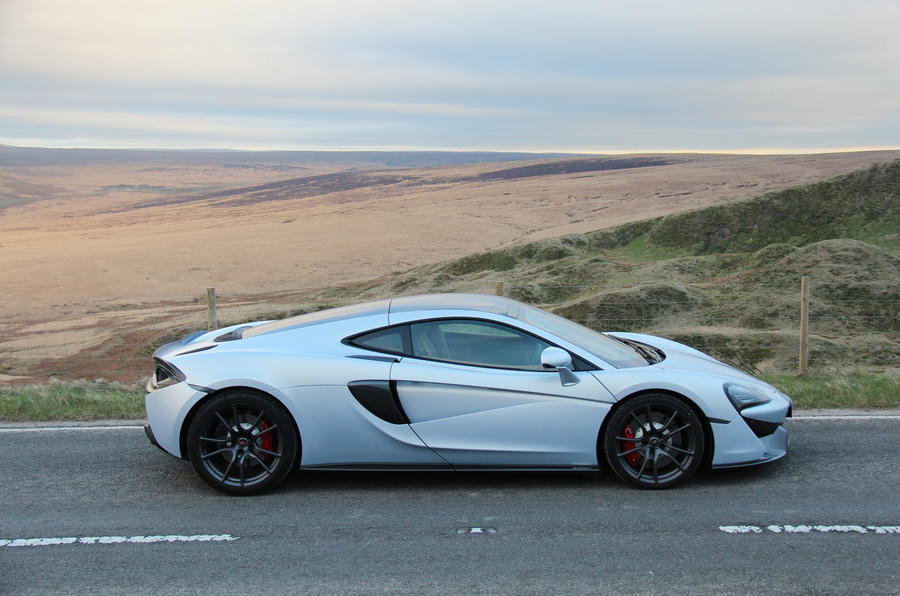 McLaren 570GT side profile